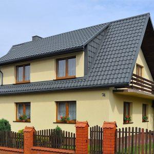 польская металлочерепица optima arad фото