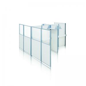 перегородки из стекла для офисов и магазинов