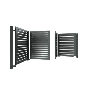 складные ворота гармошка