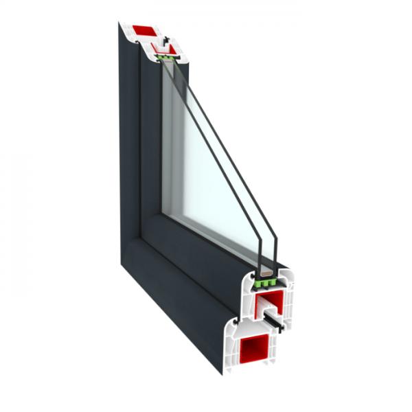 окно пвх ClasicTherm 6-камерное