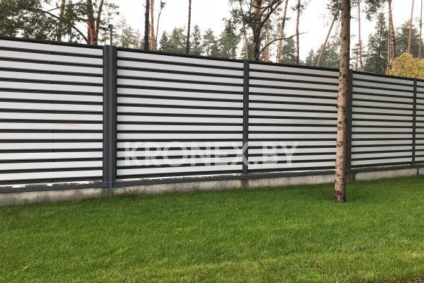 забор горизонтальный ранчо техас