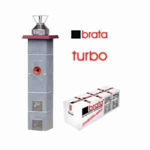 Керамический дымоход Brata Turbo в минске