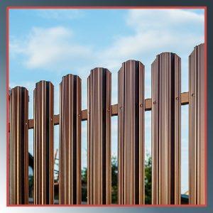 Заборы из металлоштакетника