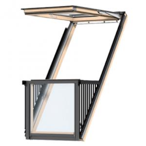 окно балкон cabrio velux