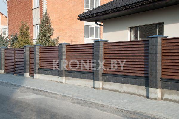забор жалюзи фото объекта