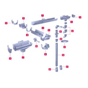 водосточная система nicoll ovation франция
