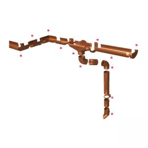 водосточная система nicoll vodalis франция