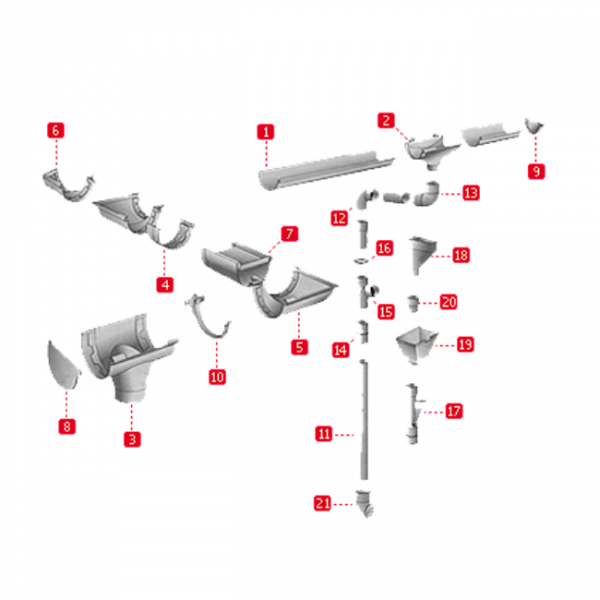 водосточная система nicoll lg33 франция