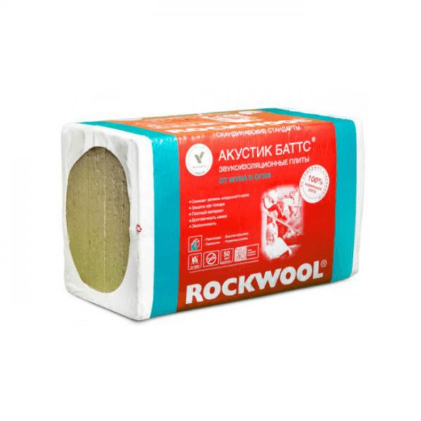 утеплитель rockwool акустик баттс для звукоизоляции