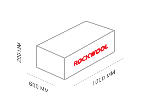 размеры утеплителя rockwool рокфасад
