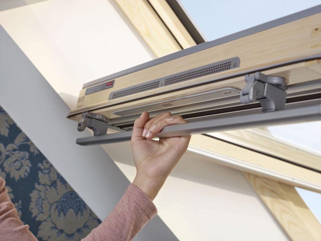 ручка механизм открывания окна velux