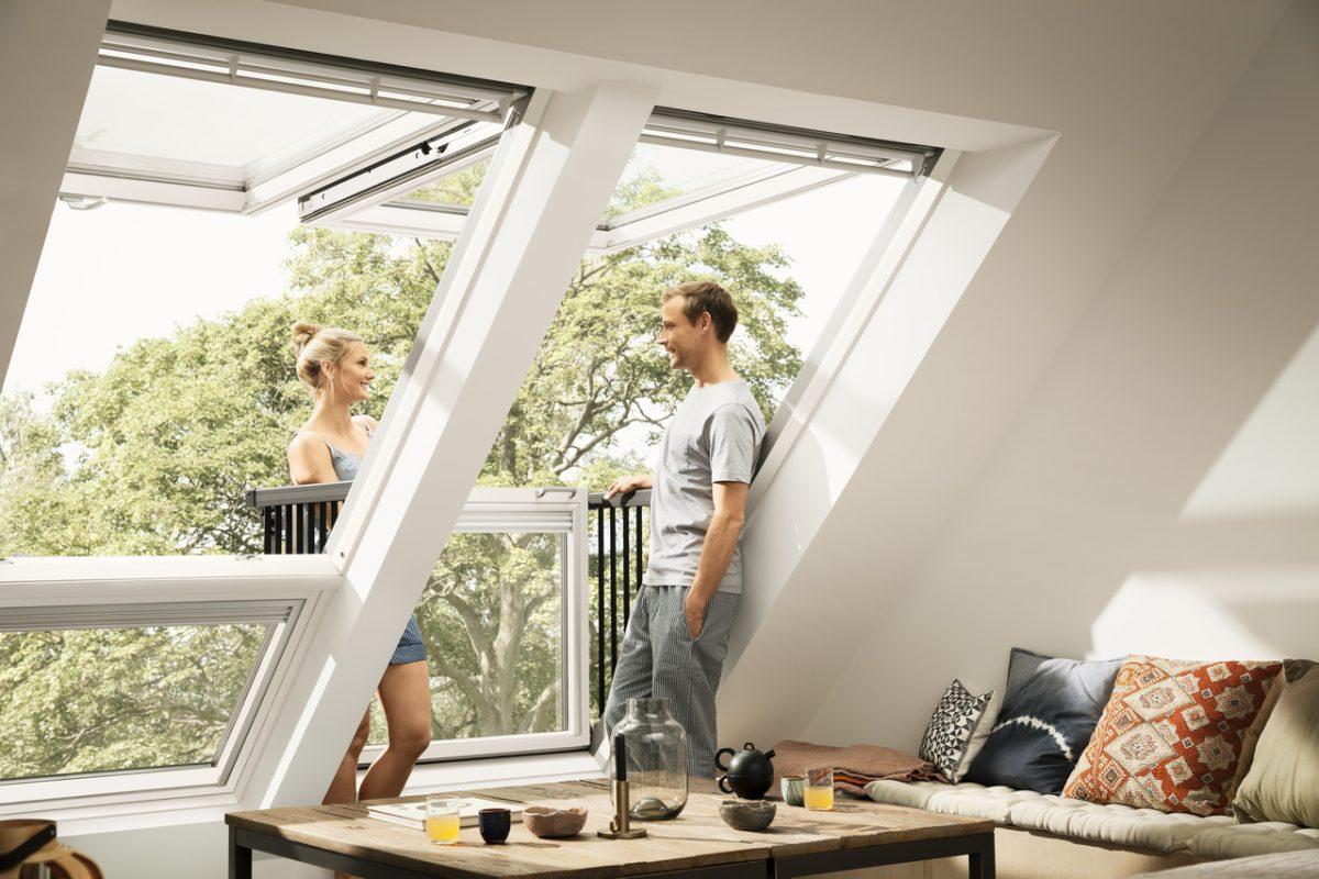 современные решения мансардного окна