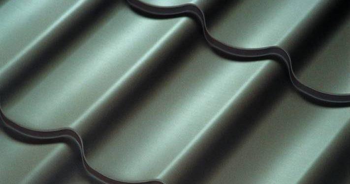металлочерепица листовая