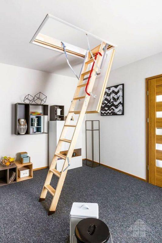 чердачная лестница конструкция