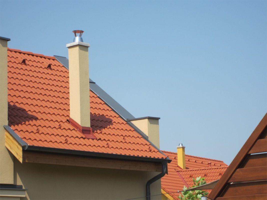керамический дымоход в доме