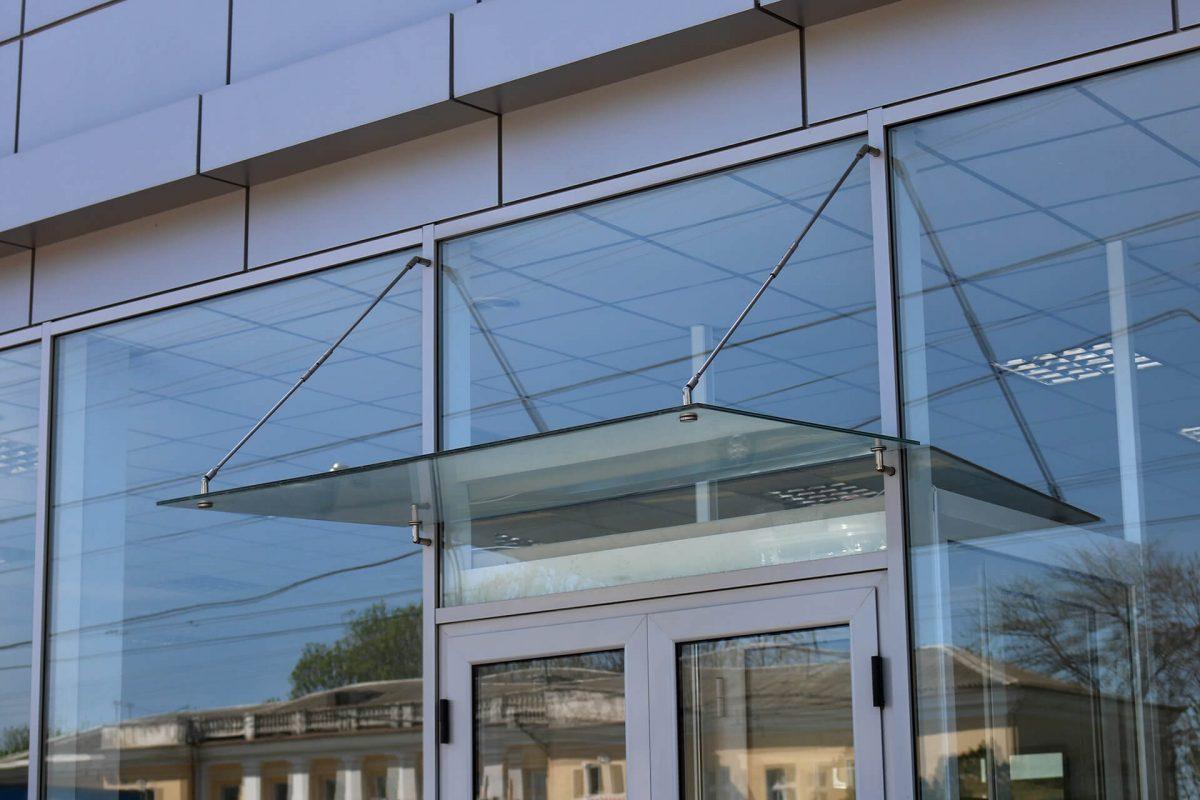 стеклянные архитектурные конструкции