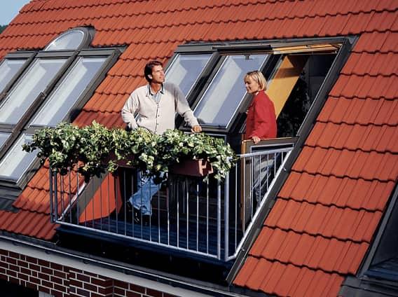 окно балкон velux